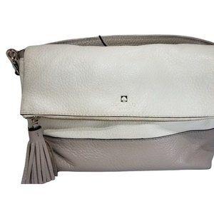 Kate Spade Bag: Maria Southport Avenue Crossbody Bag Taupe & Ivory Leather